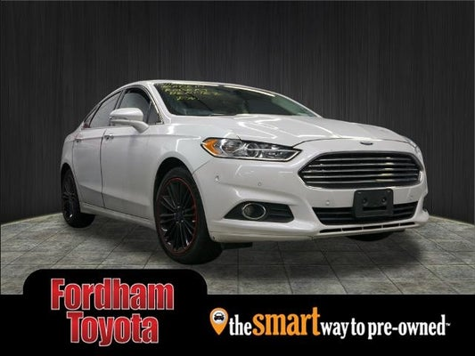 2016 Ford Fusion Se In Bronx Ny Fordham Toyota